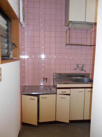 コピーヌカナメ 205号室のキッチン