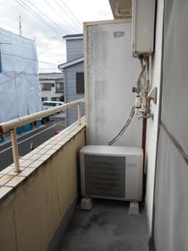 コピーヌカナメ 205号室のバルコニー