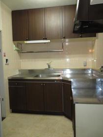 ロイヤルステージ弥生台 201号室のキッチン