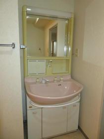 ロイヤルステージ弥生台 201号室の洗面所