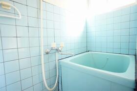 ハーフムーン 201号室の風呂