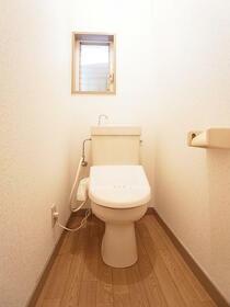 レジデンスセキネ 101号室のトイレ