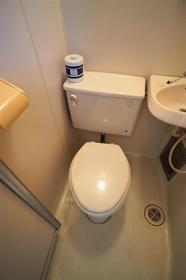 ヴィラ清瀬 202号室のトイレ