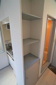 ヴィラ清瀬 202号室の収納
