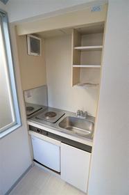 ヴィラ清瀬 202号室のキッチン