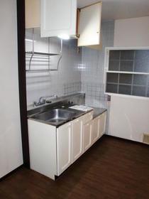 サニーハイツ 203号室のキッチン