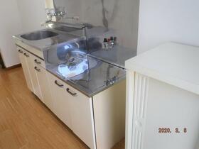 中央グリーンハイツ 201号室のキッチン