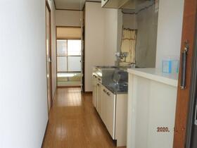中央グリーンハイツ 201号室の玄関