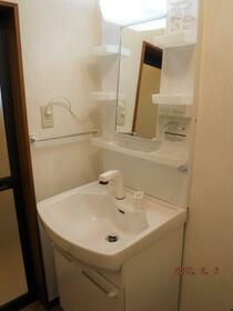 中央グリーンハイツ 201号室の洗面所