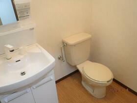 中央グリーンハイツ 201号室のトイレ