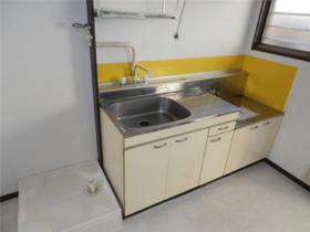 グリーンハイツ谷 101号室のキッチン