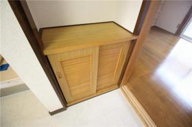 ハイツ山室A 102号室の玄関
