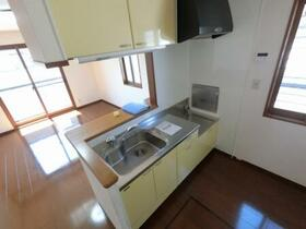 エトワール キューブ B 103号室のキッチン