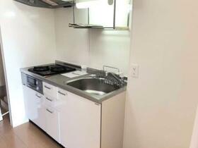 アイリス B B205号室のキッチン