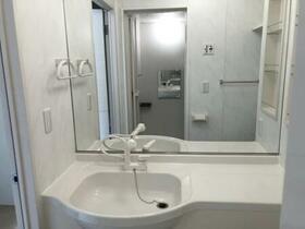 アイリス B B205号室の洗面所