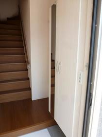 グラン・リーオA 202号室の玄関