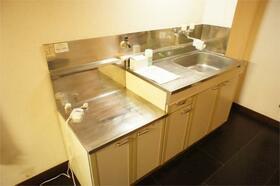 グリーンヒルHOKUTO 310号室のキッチン