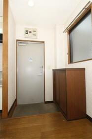 メゾンテイIII 201号室の玄関