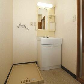 メゾンテイIII 201号室の洗面所