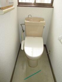 笠幡戸建のトイレ