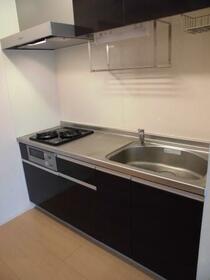 ルミナス・オリエンタルコート 203号室のキッチン