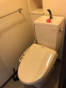 ダイアパレス横浜銀河の丘 603号室のトイレ