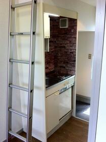 サンフラッツ橋戸 206号室のキッチン