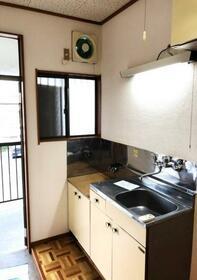 アマノハイツ 202号室のキッチン