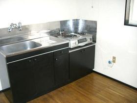 スターアベニュースナガI棟 202号室のキッチン