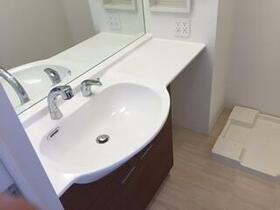 レインボー 101号室の洗面所