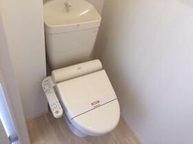 レインボー 101号室のトイレ