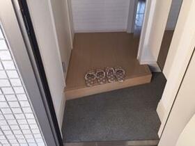 レインボー 101号室の玄関