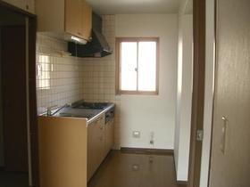 グランエスポワール Ⅱ 302号室のキッチン