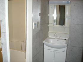 グランエスポワール Ⅱ 302号室の洗面所