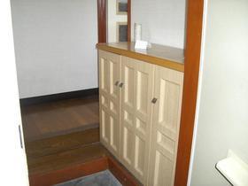 メゾントモ B 101号室の玄関