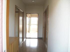 コーポ河内 202号室の玄関