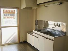 コーポ河内 202号室のキッチン