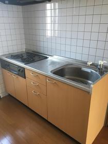 グランエスポワール Ⅰ 301号室のキッチン