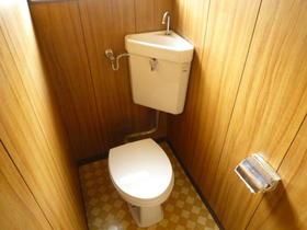 赤坂荘 202号室のトイレ