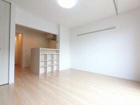 D-room思川ヴィオレ D 106号室のリビング
