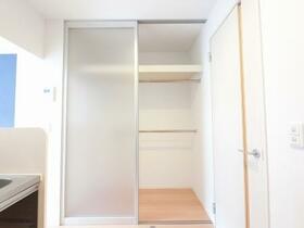 D-room思川ヴィオレ D 106号室の収納