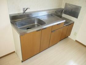 パークアベニュー B 102号室のキッチン