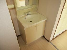 パークアベニュー B 102号室の洗面所