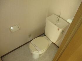 パークアベニュー B 102号室のトイレ