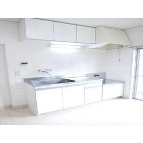 富士見コーポ 0204号室のキッチン