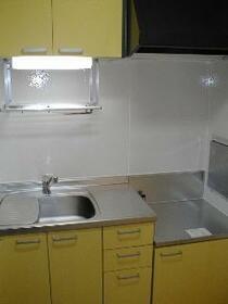 Cocoro 102号室のキッチン