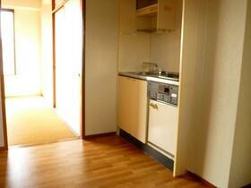 山崎ビル 4A号室のキッチン