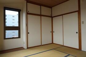 山崎ビル 4A号室のリビング