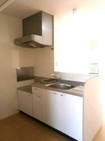 ビューラーKEN B 202号室のキッチン