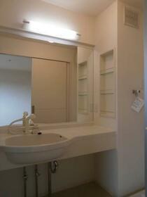 ビューラーKEN B 202号室の洗面所